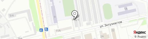CarService на карте Нижнего Тагила