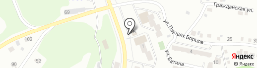 Yoshi Sushi на карте Миасса