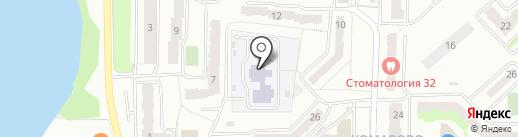 Детский сад №2 на карте Миасса