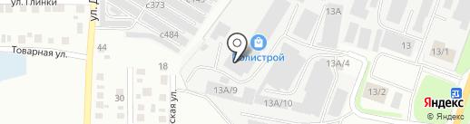 Полистрой на карте Миасса