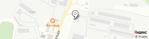 Делсот, ЗАО на карте Миасса