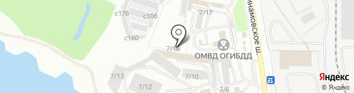 ОМВД Кинологической службы на карте Миасса