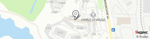 Факел на карте Миасса