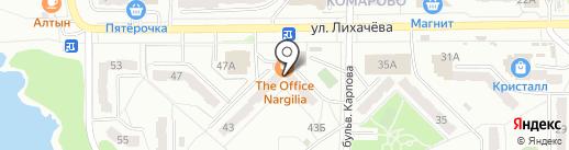 Уютная квартирка на карте Миасса