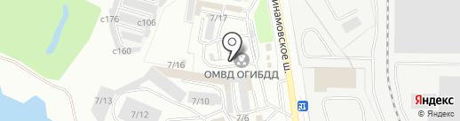 Отдел ГИБДД отдела МВД России по г. Миассу на карте Миасса