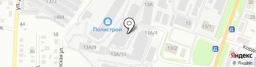 ПромБурАвто на карте Миасса