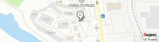 Дельта-КС на карте Миасса
