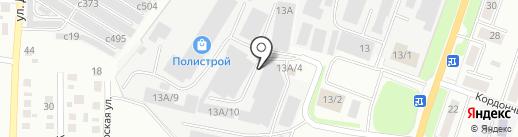 М-лайн на карте Миасса