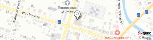 Банкетный зал на карте Миасса