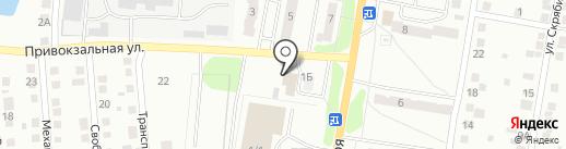 Велюр на карте Миасса