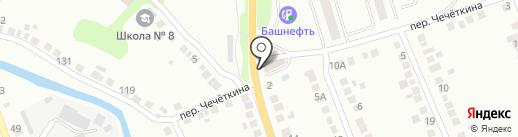 корпорация СОЛНЦА на карте Миасса