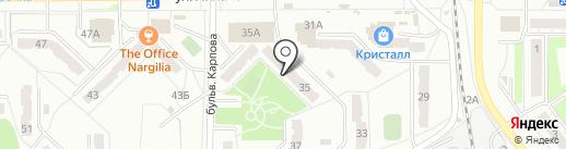 ИТС на карте Миасса