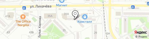 АТЛЕТ на карте Миасса