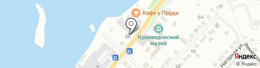 ЭРДО на карте Миасса