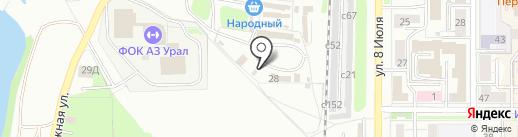 СПЕЦСТРОЙ на карте Миасса