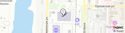 Спецавтотранс на карте Миасса