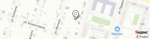 Дом крепежа на карте Нижнего Тагила