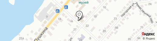 Дежурная часть на карте Миасса