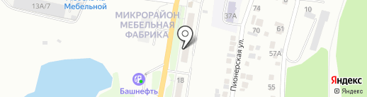 Радуга на карте Миасса