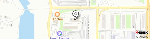 Мемориальная компания на карте Миасса