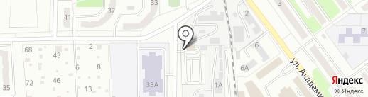Тракт-Сервис на карте Миасса