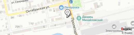 Уйская на карте Миасса