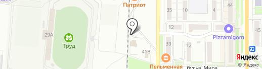 Boomerang на карте Миасса