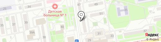Эталон на карте Нижнего Тагила