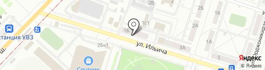 София на карте Нижнего Тагила