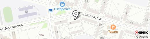 Магазин автозапчастей для ГАЗ на карте Нижнего Тагила