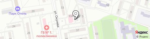 ЕВА на карте Нижнего Тагила