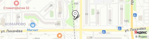 Русский фейерверк на карте Миасса