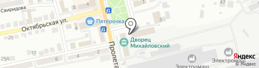 Золотой невод на карте Миасса