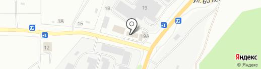 Автозапчасти на карте Миасса