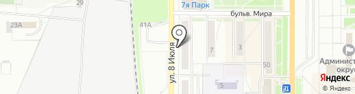 VIN-КОД на карте Миасса