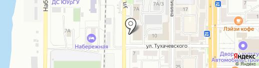 Арка, ЗАО на карте Миасса