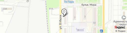 Автокомфорт на карте Миасса