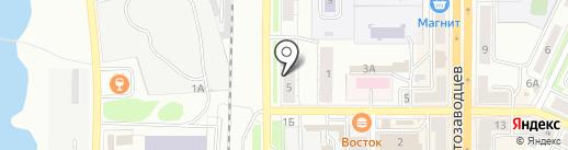 УралЭкспрессЗапчасть на карте Миасса