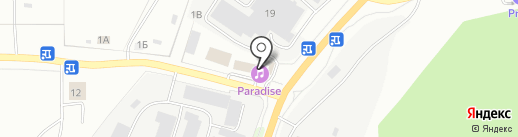 Авто на карте Миасса