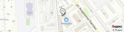 Сoppa-print на карте Миасса