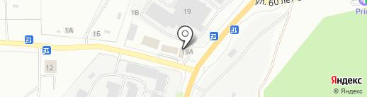 Таганай на карте Миасса