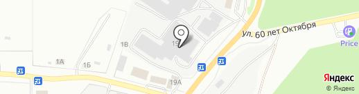 Элте на карте Миасса