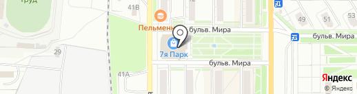 Teeneger на карте Миасса