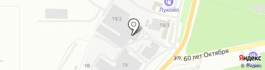 Форано на карте Миасса