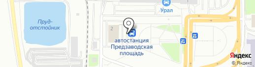 Иконная лавка на карте Миасса