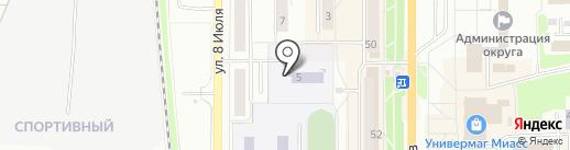 Детский сад №66 на карте Миасса