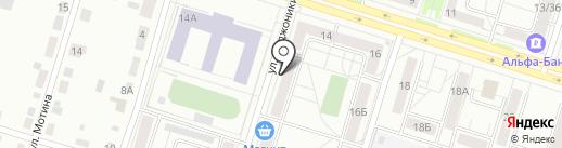 Тату-студия Ивана Метелёва на карте Нижнего Тагила