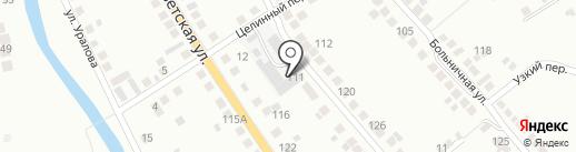 Монолитстрой, ЗАО на карте Миасса