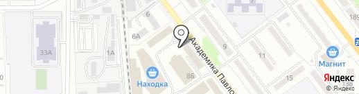 Шиномонтажная мастерская на карте Миасса