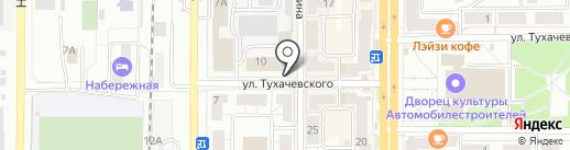 Центр натяжных потолков и светотехники на карте Миасса